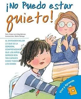 Â¡No puedo estar quieto!: Mi vida con ADHD (Viva y aprende) (Spanish Edition) by Pollack, Pam, Belviso, Meg (2009) Paperback