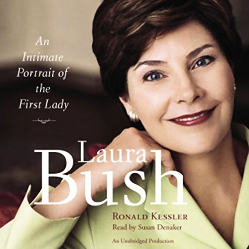 Laura Bush audiobook cover art