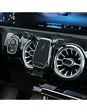 Telefoonhouder voor Mercedes W177 A-klasse A200 A180 A250 A220 CLA200 CLA250 CLA220 CLA C118 W118 2020 2021 (zwart)