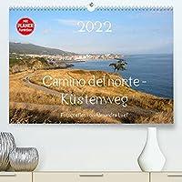 Camino del norte - Kuestenweg (Premium, hochwertiger DIN A2 Wandkalender 2022, Kunstdruck in Hochglanz): Pilgerweg entlang der spanischen Nordkueste von Irun nach Santiago de Compostela (Geburtstagskalender, 14 Seiten )