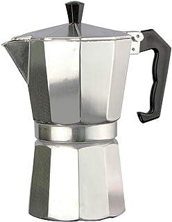 Poign/ée Marron 6 Tasses ROSSETTO Cafeti/ère Italienne en INOX