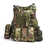 YAKEDA® 戦術SWAT CSベスト 陸軍ファンベストCsゲームベスト、カウンターストライクゲームのCSフィールドベスト コスプレベスト-322 (イタリアカモフラージュ) [並行輸入品]
