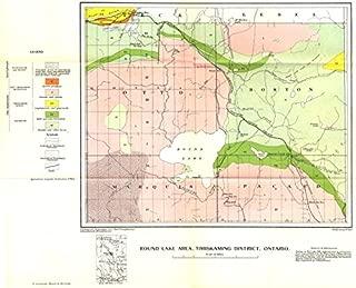 Best round lake ontario map Reviews