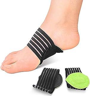 comprar comparacion plantillas acolchadas para fascitis plantar. Calcetines soporte para talón y tobillo, plantillas para pies planos, almohad...