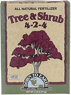Down to Earth All Natural Tree & Shrub Fertilizer Mix 4-2-4, 5 lb