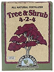 Down to Earth All Natural Tree & Shrub Fertilizer Mix