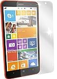dipos I 2X Schutzfolie klar kompatibel mit Nokia Lumia 1320 Folie Bildschirmschutzfolie