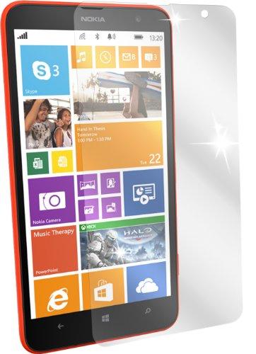 dipos I 2x Pellicola Protettiva Compatibile con Nokia Lumia 1320 Pellicola di Protezione Cristallo