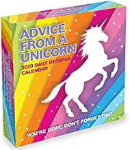 2020 ADVICE FROM A UNICORN DESK CALENDAR WITH 2 FREE YEAR PLANNERS AND 2 FREE HANDMADE XMAS CARDS(TWENTY FIVE DOLLAR VALUE)- YOU CAN ALSO ORDER A CALENDAR PLANNER 2019-20