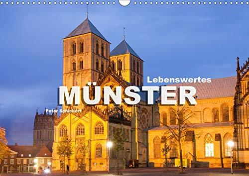 Lebenswertes Münster (Wandkalender 2020 DIN A3 quer): Die wunderbare Stadt Münster in einem Kalender vom Reisefotografen Peter Schickert. (Monatskalender, 14 Seiten ) (CALVENDO Orte)