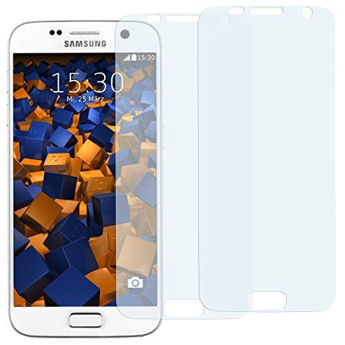 mumbi Schutzfolie kompatibel mit Samsung Galaxy S7 Folie klar, Displayschutzfolie (2X)