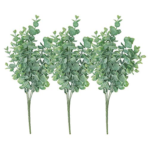 Kunststoffpflanzen-Set (Eukalyptus)