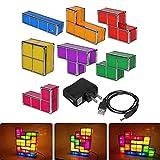 NHMT Tetris Lamp Stackable Led Table Light Mood Lichtdekoration Nachtlicht, Super Hell, Sieht Toll...
