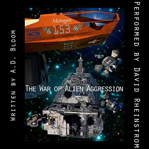 The War of Alien Aggression - Box Set One audiobook cover art