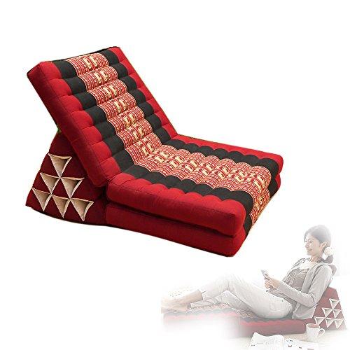 Univegrow Thai Triangle Kapok Kussen Organic Pillows Floor Lounger luie stoel