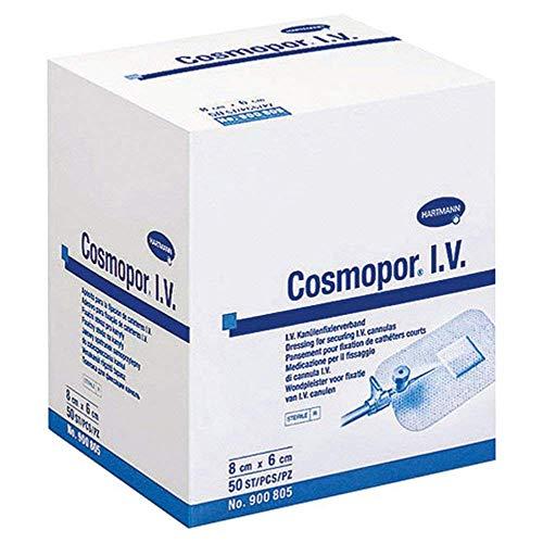 Cosmopor I.V. Kanülenfixierverband, 50 St