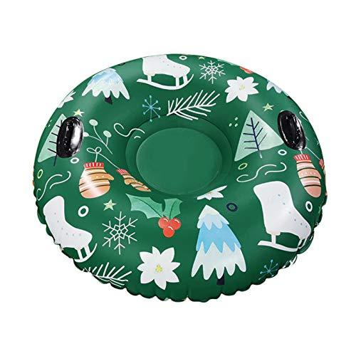Cucheeky Trineo de nieve hinchable de PVC de alto rendimiento para niños y adultos – días inolvidables de invierno
