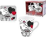 CARTOON GROUP Tazza in Ceramica + Sottotazza Peanuts Snoopy - in Confezione Regalo