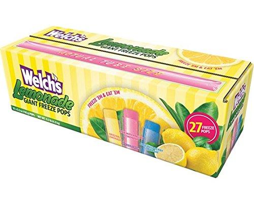 Welch's Lemonade Giant Freezer Pops (Pack of...