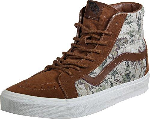 Vans Unisex SK8-Hi Reissue Sneaker Tortoise Shell Desert Cowboy Size 12 M US Women / 10.5 M US Men