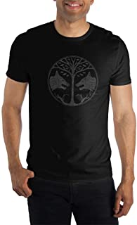 Destiny Wolves Mens Black T Shirt