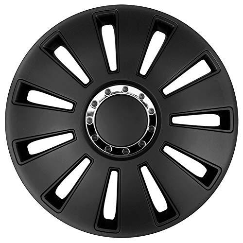 Jeu d'enjoliveurs Silverstone Pro 16-inch noir
