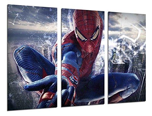 Cuadro Fotográfico Superheroe, Spiderman Tamaño total: 97 x 62 cm XXL