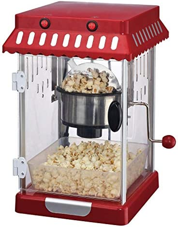 Frigidaire EPM107RED Retro 2 5 Ounce Theater Style Countertop Popcorn Maker 2 5 Ounce Red product image