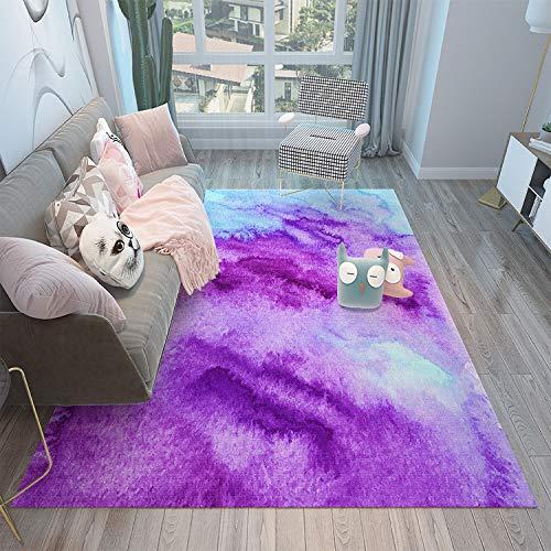 MLKUP Alfombra De Poliéster Dormitorio Sala De Estar Sofá Alfombra Mesa Yoga Mat Decoración Alfombra Alfombra 50x80cm
