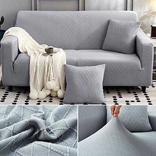 Sangkoo Funda de sofá Universal,Funda de Sofa,Funda elástica para sofá,transferência de umidade Suave,antiderrapante e antiderrapante,Elegante e Simples,Grande elasticidade,não é fácil de deformar
