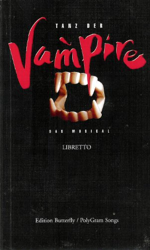 Buch TANZ DER VAMPIRE (LIBRETTO)