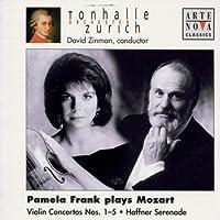 Pamela Frank Plays Mozart: Violin Concertos Nos. 1-5/Haffner Serenade