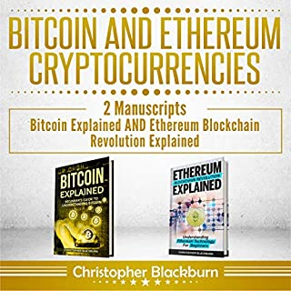 Bitcoin and Ethereum Cryptocurrencies: 2 Manuscripts audiobook cover art