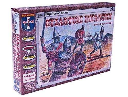 ORION ori72044 – Byzantine (Groupe) Infantry x des Ensembles de XIII Centuries, Résine