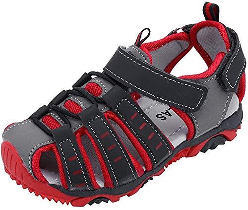 Baby Jungen Sandalen Geschlossene Sandalen Offene Sandalen mit Keilabsatz Barfuß Schwimmen Wasser Haut Schuhe Aqua Sandalen für Strand Schwimmen Pool