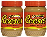 Reese's Creamy Peanut Butter, 18-Ounce Jar (Pack of 2)