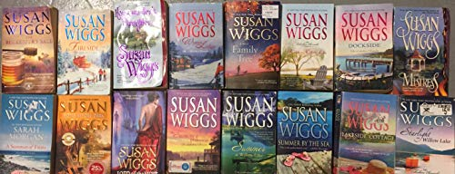 Susan Wiggs Romance Novel Collection 15 Book Set