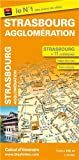 Michelin Street Map Strasbourg (PLANS (923)) (French Edition)