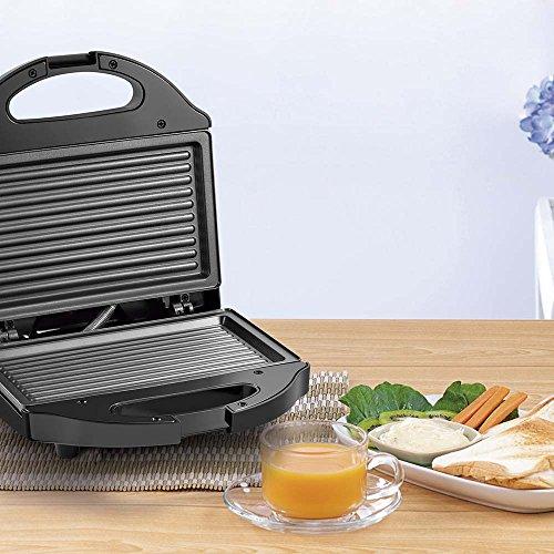 Sanduicheira Minigril Gourmet 127V com 750W e Antiaderente Preta Multilaser - CE09