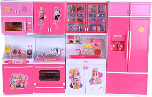 TABU TOYS WORLD Dream House Kitchen Set for Kids(Colors and Models May...