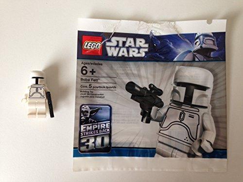 LEGO Star Wars White Boba Fett Minifigure -SEALED- 30th Anniversary Limited E
