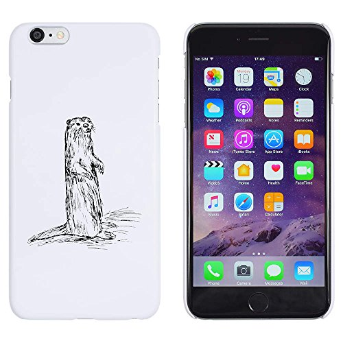 Azeeda White 'Weasel' Case for iPhone 6 Plus & 6S Plus (MC00115026)