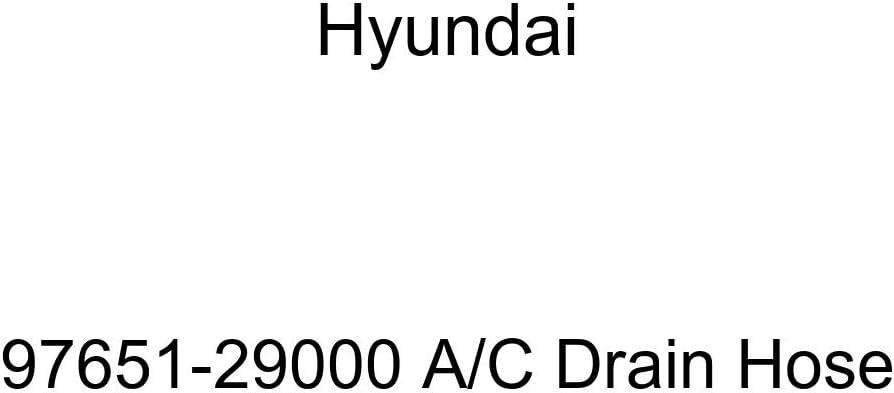 Genuine Hyundai 97651-29000 A C Max Latest item 53% OFF Hose Drain