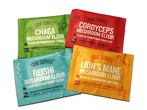 Four Sigmatic Probierpack Mushroom Elixiere (4 Stck.)