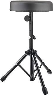 $29 » Drum Stool Adjustable Height Rotatable Drum Throne Padded Seat for Kid & Adult (Black)