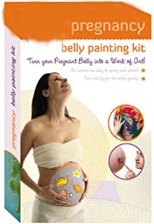 PREGNANCY BELLY PAINTING KIT - Painted Pregnant Bellies Body Face