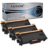 Alphaink 3 Toner compatibile con Brother TN-3480, per stampanti Brother DCP-L5500DN L6600DW HL-L5000D L5100DN L5100DNT L5200DW L5200DWT L6250DN L6300DW L6300DWT MFC-L5700DN L5750DW TN3480 (3 Toner)