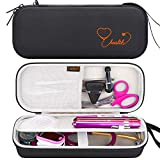 Canboc Hard Stethoscope Case for 3M Littmann Classic III, Lightweight II S.E, Cardiology IV, MDF Acoustica Stethoscope, Mesh Pocket fits Medical Scissors, Penlight, Oral Thermometer, Black