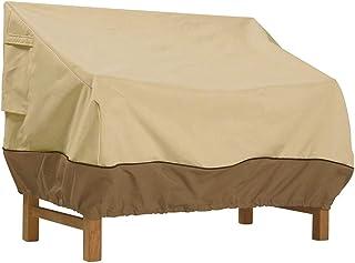 Fdit Funda impermeable y resistente al polvo, para muebles de jardín, protección para sofás y sillas, embalaje múltiple, 224 x 83 x 84 cm