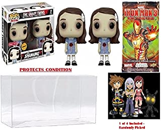 Funko POP! Grady Twins Chase, The Shining Vinyl Figure Safe Collector's Bundle